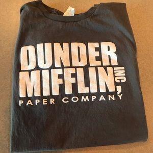 Dunder Mifflin The Office T Shirt Large